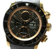 EDOX Chrono Offshore 1 01114 Day date black Dial Automatic Men's Watch_561286