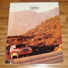 Original 1992 Ford Explorer Sales Brochure 92 XL XLT Sport Eddie Bauer