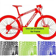 Orbea Bicycle Bike Frame Decals Sticker Adhesive Graphic Vinyl Aufkleber Green