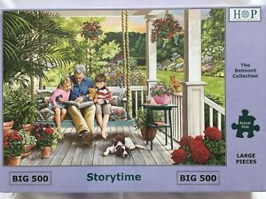 Brand New House of Puzzles BIG500 Large Piece Jigsaw Puzzle - STORYTIME