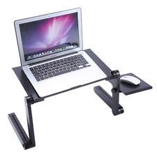 Portable Folding Laptop Table Desk Adjustable Laptop Stand Desk Sofa Bed Tray