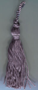 "3"" LAVENDER CHAINETTE TASSELS LOT OF 6 TRIM"