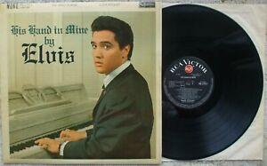 Elvis Presley - His Hand In Mine - RD 27211 - RARE Red Spot Mono Lp - EX-