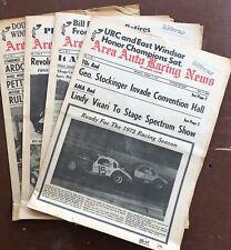 "Area Auto Racing News ""January 1972"""