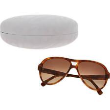 Occhiali da sole da donna aviator polarizzati con lenti in marrone