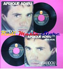 LP 45 7'' MICHAEL SARDOU Afrique adieu Cote soleil 1982 france RCA no cd mc dvd