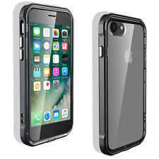 Slim Defense Shockproof Rugged Bumper Clear Case Cover For Apple iPhone 5 5s SE