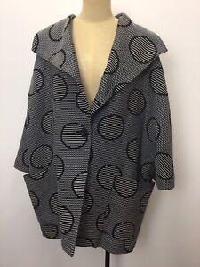 Maggie T Dolman Sleeve Jacket-Labelled Size 18