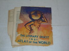 The literary digest 1931 atlas of the world