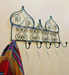 Moroccan Iron Clothes Coat Hat Hanger - Free PP
