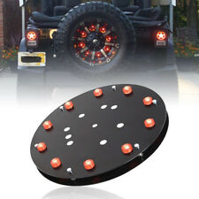 For 07-17 Jeep Wrangler JK Accessories 3rd Brake Light, Spare Tire Red LED Light
