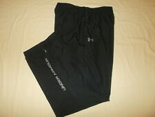 UNDER ARMOUR BLACK FULLY LINED ATHLETIC PANTS MENS XL EXCELLENT CONDITION