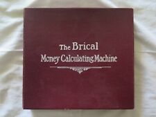 BANKING BANK THE BRICAL MONEY CALCULATING MACHINE c1920s