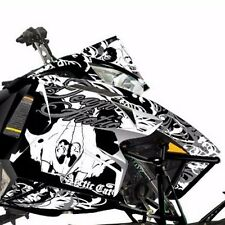 Arctic Cat Snowmobile Black Annihilator Hood Decal Wrap C Listing 4 Fit 6639-747