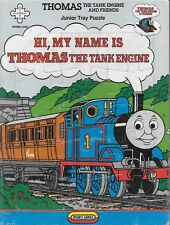 Vintage 1984 Hi my name is Thomas the Tank engine junior tray jigsaw puzzle