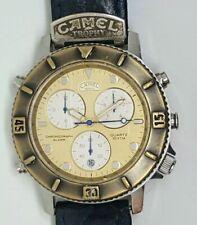 Raro Vintage CAMEL TROPHY Super Chrono Cronografo Alarm Ref.3S10 Quarzo