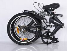 FOLDABLE BICYCLE 20 INCH SUSPENSION - NEW DESIGN - QUALITY PRODUCT 6 SPEED