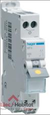 Disjoncteur unipolaire+neutre automatique 10A Hager MFS710