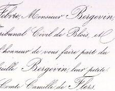 Gabrielle Bergevin 1859 Camille La Motte Ango De Flers