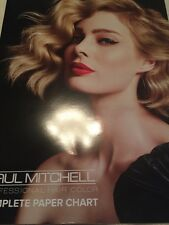 Paul Mitchell Formulation  Hair Color Chart Newest! Complete Paper Swatch