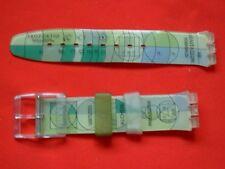 SWATCH CINTURINO strap armband ORIGINAL x CHRONO ARCHIMEDE  SCG109 - 1996 NUOVO