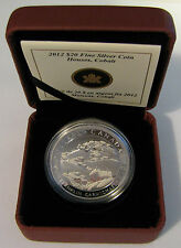 2012 Proof $20 Group of Seven #3-Houses Cobalt 1931-2-Franklin Carmichael Canada