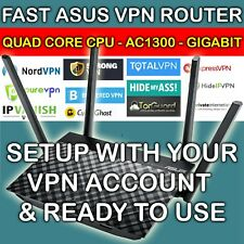 ⭐FAST VPN ROUTER WORKS WITH NORDVPN PROTECT YOUR PRIVACY AND DEVICES FREE SETUP