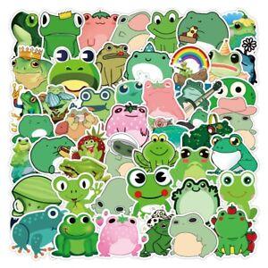 Frog Graffiti Stickers - 50 Pcs