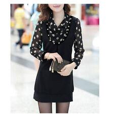 Polka Dot Hand-wash Only Dresses Tunic/Smock Dress