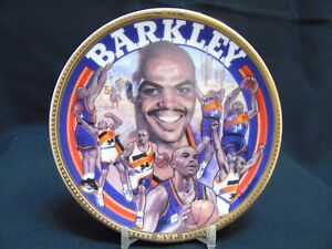 "1993 Sports Impressions ""Charles Barkley"" Phoenix Suns NBA 4"" Mini-Plate 4017-02"