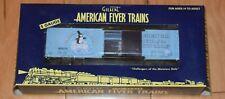 Lionel/American Flyer 48838 Penguin Seafood Reefer; Original Owner NEW