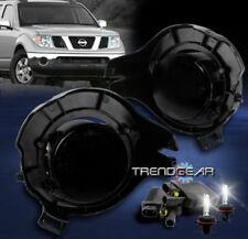 BUMPER SMOKE FOG LIGHTS W/8K HID FOR 2005+ FRONTIER/PATHFINDER/2007+ SENTRA SE-R