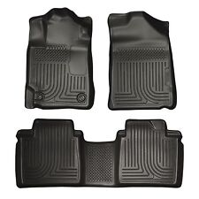 Husky Liners WeatherBeater Floor Mats - 3pc - 98501- Toyota Avalon 13-18 - Black