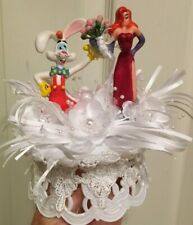 Roger and Jessica Rabbit Bride & Groom Cake-Topper-Party-Decoration