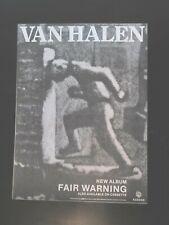 More details for van halen fair warning 10
