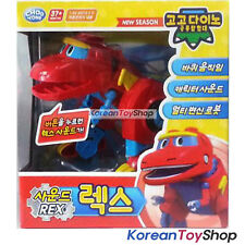 Gogo Dino REX SOUND DX Transformer Robot Dinosaur Toy Car Red Robot Dino
