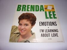 Brenda Lee: Emotions / I'm Learning About Love Picture Sleeve Only /1960