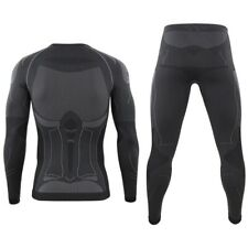 ESDY Men Outdoor Sports Compression Base Layers Underwear Top Pants Absorb Sweat