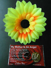 GUARDIAN ANGEL THANK YOU MOTHER I LOVE YOU KEEPSAKE COIN CHARM GIFT CARD POEM