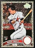 Mike Trout 2011 Topps #US175 Reprint Silver Diamond Mint Possible PSA 10