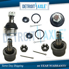 Brand New All (4) Front Upper & Lower Ball Joints Jeep Grand Cherokee Wrangler
