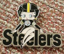 Pittsburgh Steelers Betty Boop Lapel Pin
