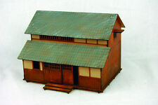 Japan SHOP or TOWNHOUSE SAMURAI/ JAPANESE 28mm Laser cut MDF scale Building B005