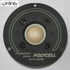 Infinity #902-2107 Polycell dome tweeter for rare Es-300 200 100 c.1985—pristine