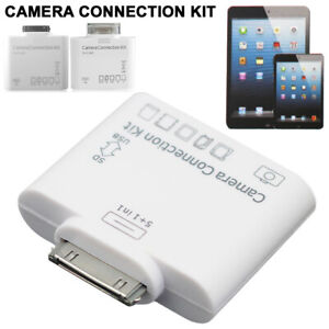5+1 In 1 USB Camera Connection Kit SD Card Reader Adapter for Apple iPad 2 3 4