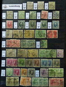 Luxemburg Luxembourg Kleine Sammlung ab Klassik 1880-1951