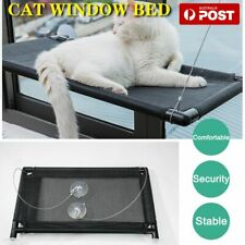 New Pet Cat Window Mounted Durable Seat Hammock Perch Bed Hold Up To 60lbs
