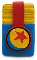 Disney Parks Pixar Luxo Ball Credit Card Holder ID Wallet Slim Blue - NEW