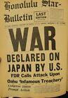 Hawaii -  World War 2 II - Newspapers in 7 SCRAPBOOK Series - Pearl Harbor