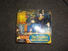 2004 McFarlane Beatles Yellow Submarine John with Glove and Love Base NEW